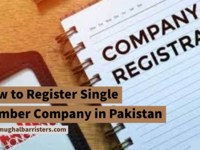 how to register single member company in pakistan